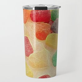 Gum Drops In The Snow Travel Mug