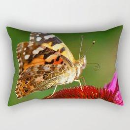 Butterfly macro 64 Rectangular Pillow