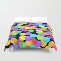 confetti Duvet Covers featuring Confetti by The Wellington Boot