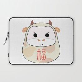 Moo moo Daruma Laptop Sleeve