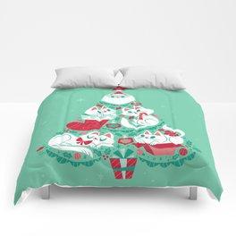 A Very Purry Christmas Comforters
