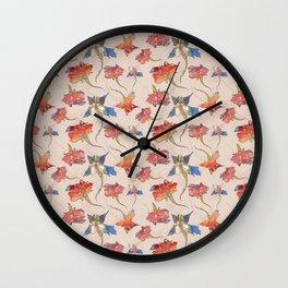 Pepper's Iris Labium Wall Clock