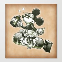 bombs away Canvas Prints featuring BOMBS AWAY by Tim Shumate