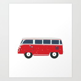 Queen Of The Camper product Gift Funny Camping Camp design Art Print