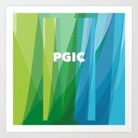 PGIC Colours Art Print