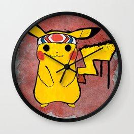 PikaPika Wall Clock