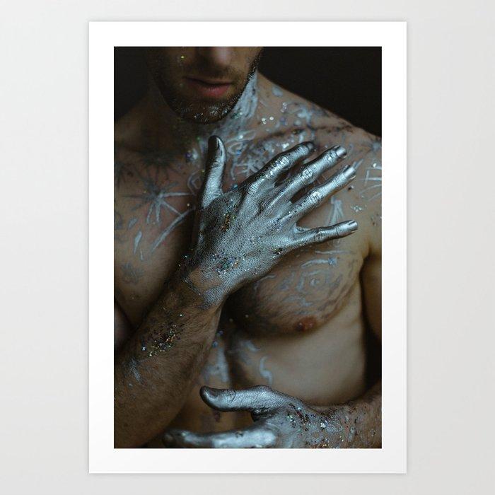 Touching Stardust Art Print