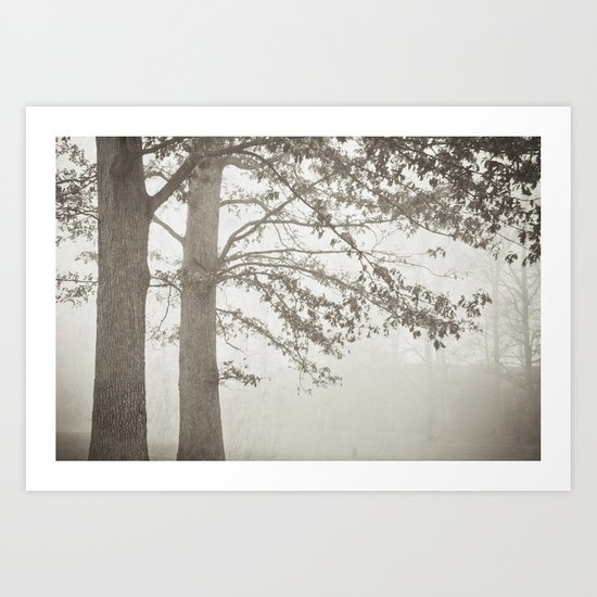 Illusion - B&W Art Print