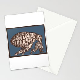 Flea Stationery Cards