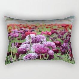 Ranunculus Field Rectangular Pillow