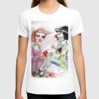 clown T-shirts featuring Clown by AliluLera