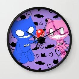 BatCat Wall Clock