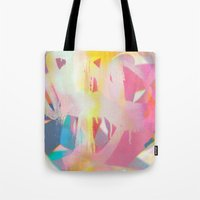 tchmo Tote Bags featuring Untitled 20140423k by tchmo