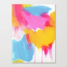 color study, may 2014 Canvas Print