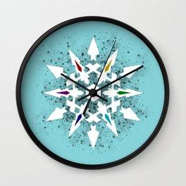 Ice Queen's Dust Wall Clock