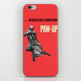 Paw-Up iPhone Skin