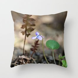 Small Steps Throw Pillow