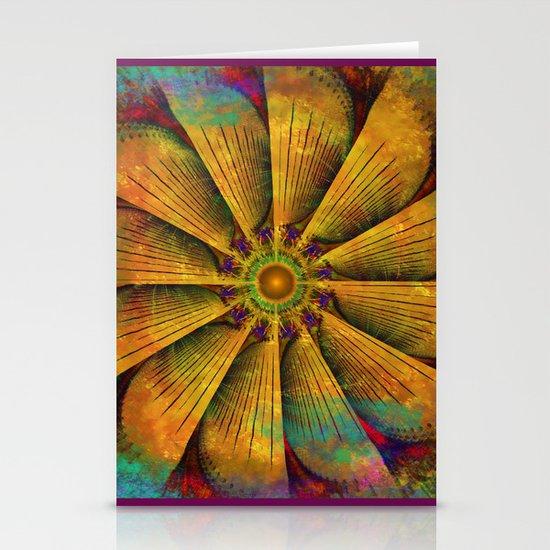 Mandala - Antiqued Stationery Cards