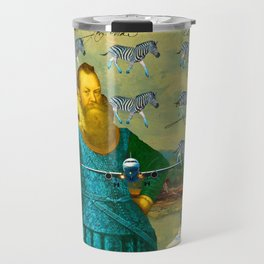 A PACKAGE FOR THE ZEBRAS Travel Mug