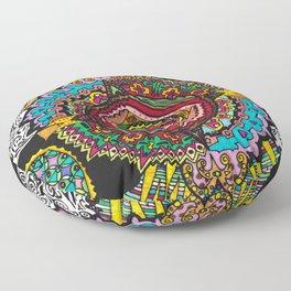 What spins is spun Floor Pillow