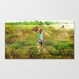 Girl (Field of Infinity #2) Canvas Print