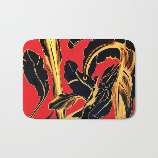 Succulent at Christmas Time, Its the Most Wonderful Time of the Year Bath Mat