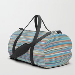 Colorful lines summer pattern Duffle Bag