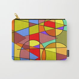 Abstract #46 Time-Lapse Sunset Carry-All Pouch