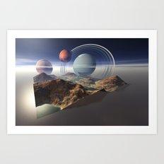 Baptism of Mars Art Print