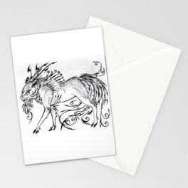 Calligraphy Kirin Stationery Cards