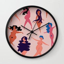 Women Tribe Wall Clock