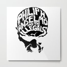 PHILIP H. ANSEL MO AND THE ILLEGALS Metal Print