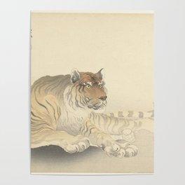 Tiger - Ohara Koson (1900 - 1930) Poster