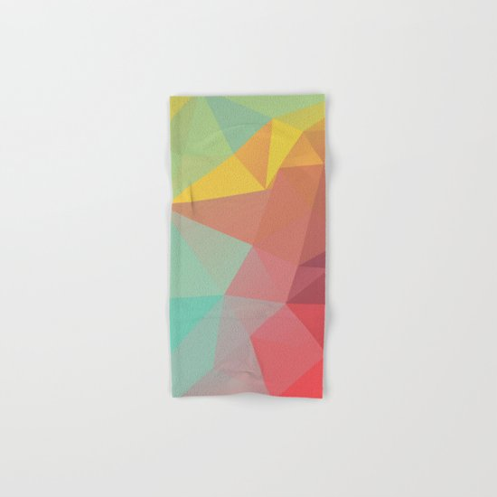 Geometric X Hand & Bath Towel