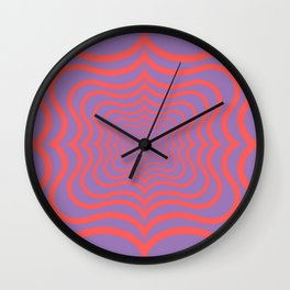 Optical web Wall Clock