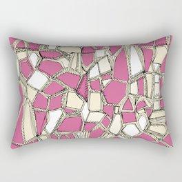 BROKEN POP pink Rectangular Pillow