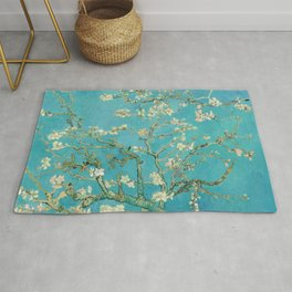 Van Gogh Almond Blossoms Painting Rug
