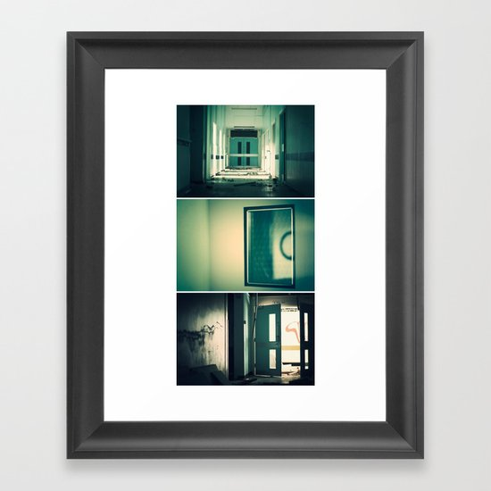Deconstruction Framed Art Print