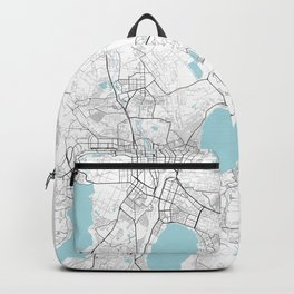 Chelyabinsk City Map of Russia - Circle Backpack