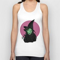 wicked Tank Tops featuring Wicked by Shelby Wolf