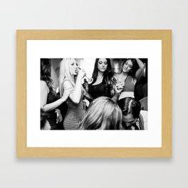 Studio_Paris_4359_BW Framed Art Print