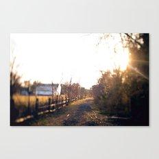 Trails in Brick, NJ Canvas Print