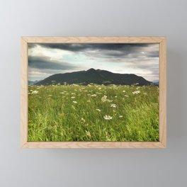 Dark Mountain Framed Mini Art Print