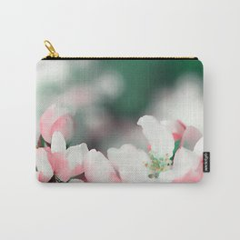 Almond Bloom 7 Carry-All Pouch