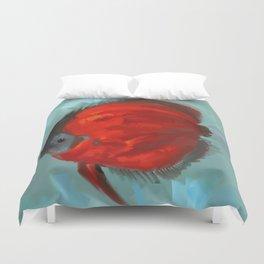 Red Fish Duvet Cover