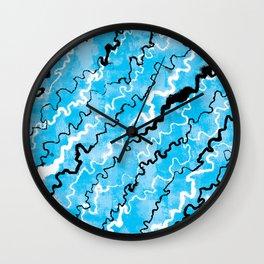 Echo Rivers Wall Clock