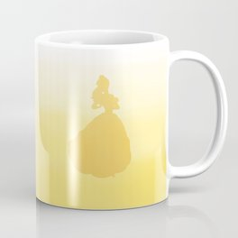 Beauty Silhouette - Beauty and the Beast Coffee Mug