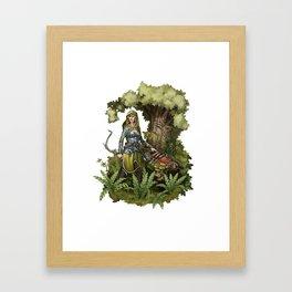 Hunted Framed Art Print