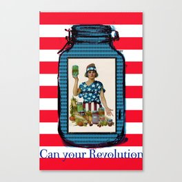 Can your Revolution Canvas Print