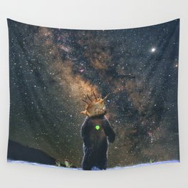 Space /Bear /Milkyway Wall Tapestry
